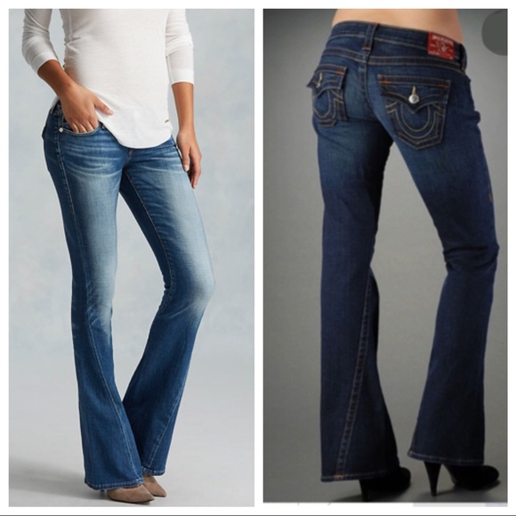 True Religion Denim - TRUE RELIGION flare LEG denim jeans Joey twist 30